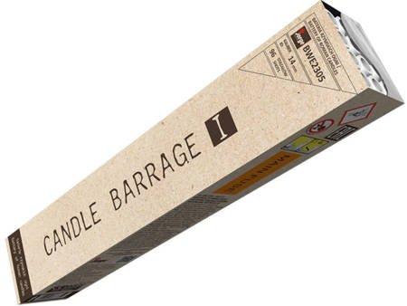 Bateria rzymskich ognii Candle Barrage I BWE2305 - 96 strzałów 14mm