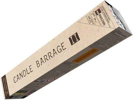 Bateria rzymskich ognii Candle Barrage II BWE2306 - 128 strzałów 14mm