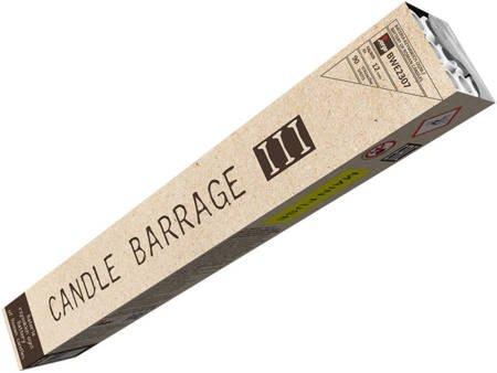 Bateria rzymskich ognii Candle Barrage III BWE2307 - 90 strzałów 14mm