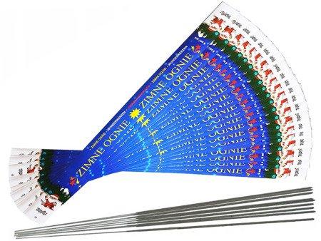 Długie Zimne Ognie 70cm - 100 sztuk (20 opakowań)