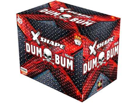"Dumbum X shape CX1620D - 16 strzałów 0.8"""