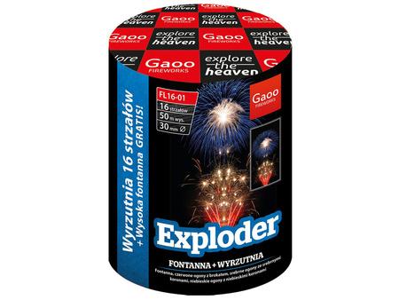 """Exploder FL16-01I - 16 strzałów 1.2"""" + fontanna"""