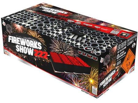 Fireworks Show C222MF/C - 222 strzałów MIX