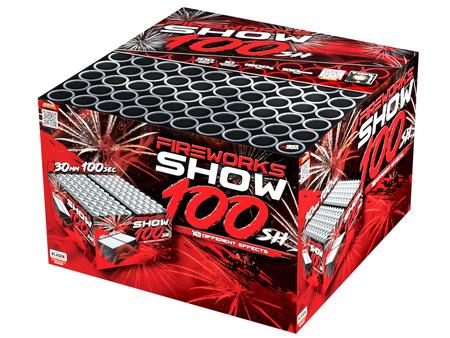 """Fireworks show C1003F/C - 100 strzałów 1.2"""""""