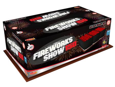 Fireworks show C150MF/C - 150 strzałów MIX