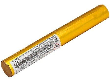 Flara meczowa żółta JF48/Y