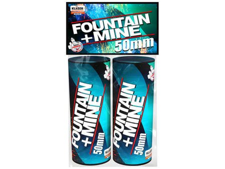 Fountain+Mine 50mm FM50A - 2 sztuki
