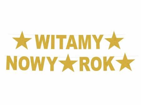 Girlanda Witamy Nowy Rok, rozm. 22 x 390 cm PF-GWNR