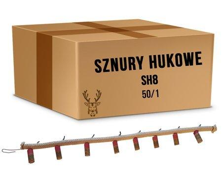 Karton Sznurów Hukowych SH8 - 8 godzin (50 sztuk)