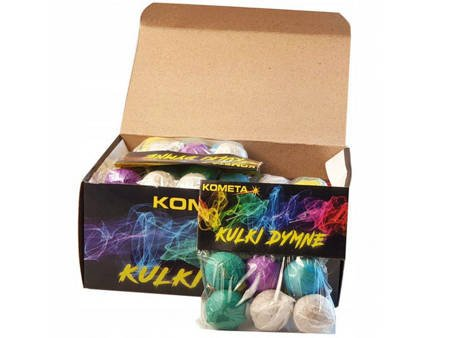 Kolorowe Kulki Dymne P0025 - 72 stuki (BOX)