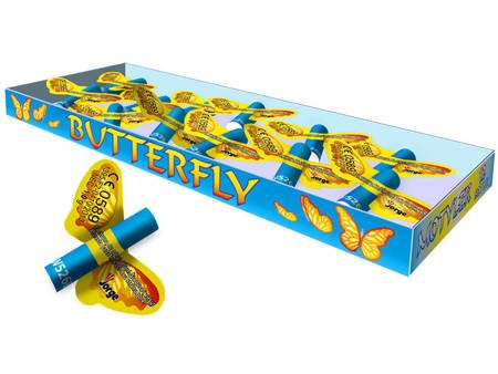 Latające Motylki Butterfly W526B - 12 sztuk