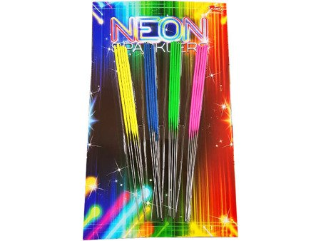Neon sparklers 28cm VP28N - 20 sztuk
