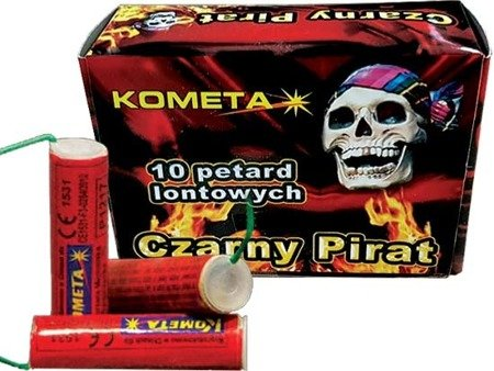Petardy Lontowe Czarny Pirat P1217 - 10 sztuk