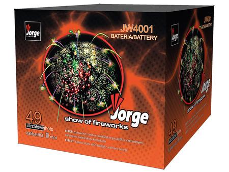 """Show of Fireworks JW4001 - 49 strzałów 1.2"""""""