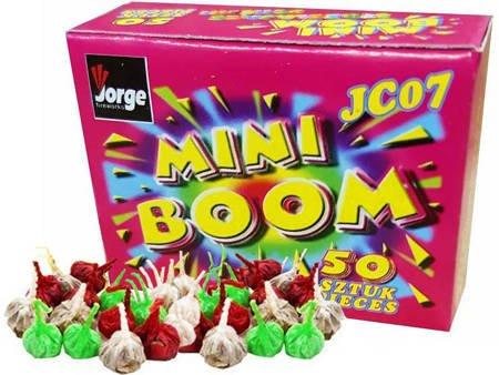 """Strzelające Diabełki """"Mini-Boom"""" JC07 - 50 sztuk"""