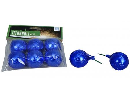 Strzelające kulki Titanball Mittel FCG-B75 - 6 sztuki