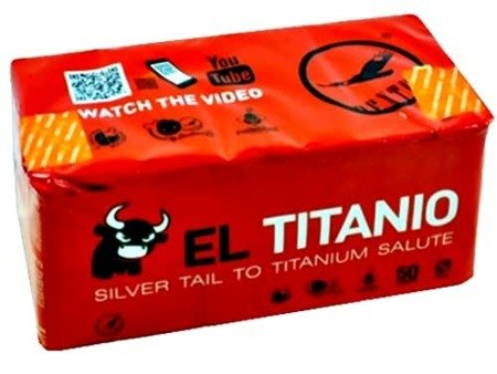 "Titanium Salute EL TITANIO DB31 - 50 strzałów 0.8"""