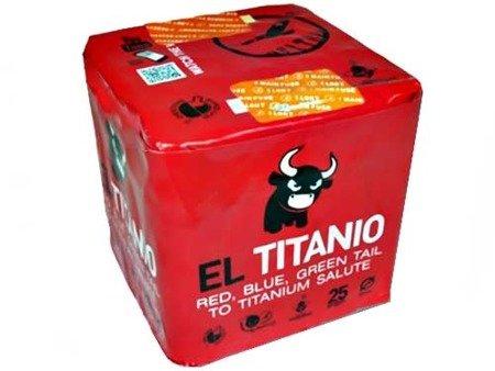 "Titanium Salute EL TITANIO DB32 - 25 strzałów 0.8"""