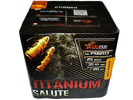 """Titanium Salute PXB2113 - 25 strzałów 0.8"""""""