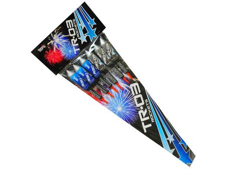 Zestaw rakiet BLUE TR-03 - 6 sztuk