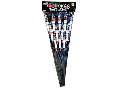 Zestaw rakiet Big Burst PSR003 - 12 sztuk