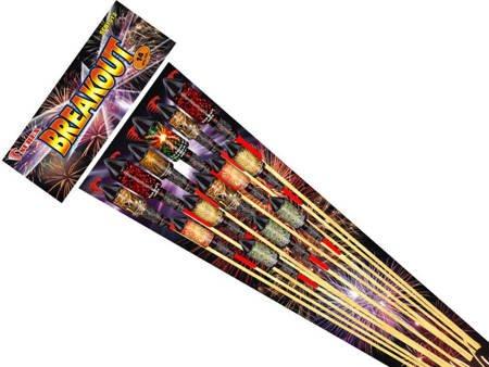 Zestaw rakiet Breakout SFB1012 - 14 sztuk