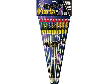 Zestaw rakiet FURIA R10-1901 - 10 sztuk