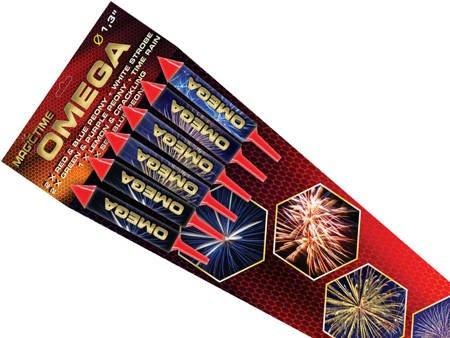 Zestaw rakiet Omega P8085 - 6 sztuk