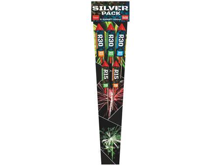 Zestaw rakiet Silver Pack R15-R30-5 - 5 sztuk