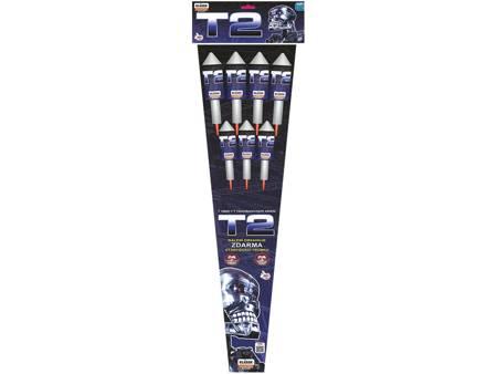 Zestaw rakiet T2 RS7T14 - 7 sztuk