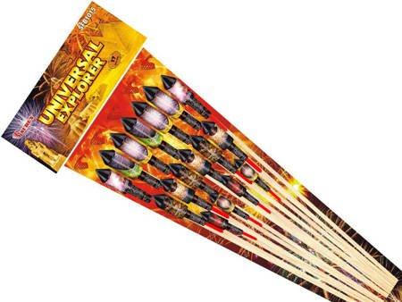 Zestaw rakiet Universal Explorer SFB1015 - 17 sztuk
