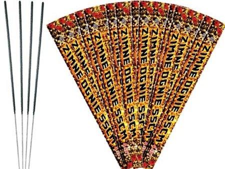 Zimne ognie 55cm E7023 - 100 sztuk (25 opakowań)